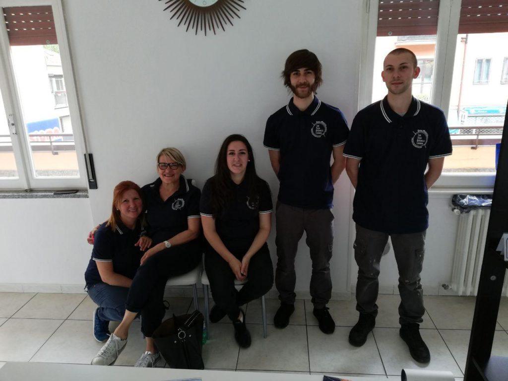 Il nostro team di pulizie di Spac Multiservice