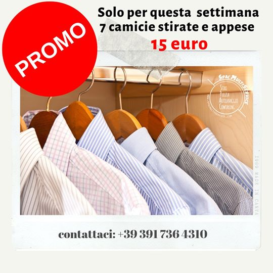 Offerta stiro 7 camicie 15 euro
